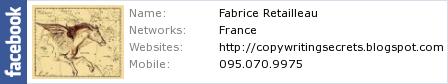 Facebook Fabrice Retailleau